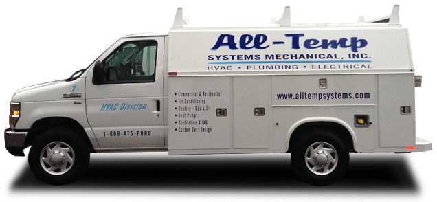 HVAC Electrical Work Truck Milford, MA